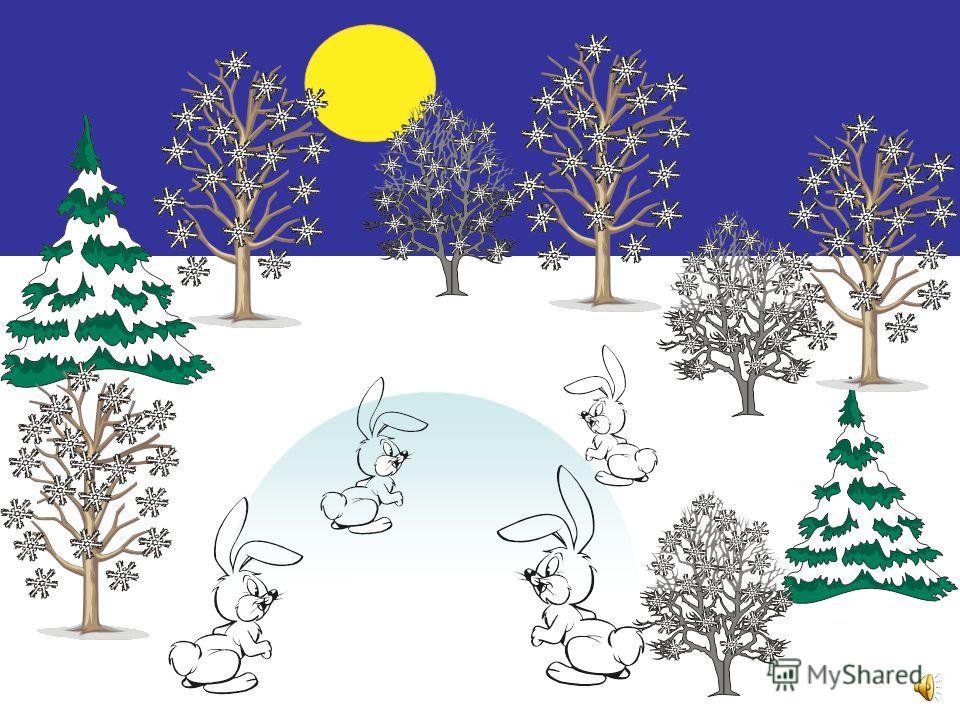 Картинки зима в лесу дед мороз