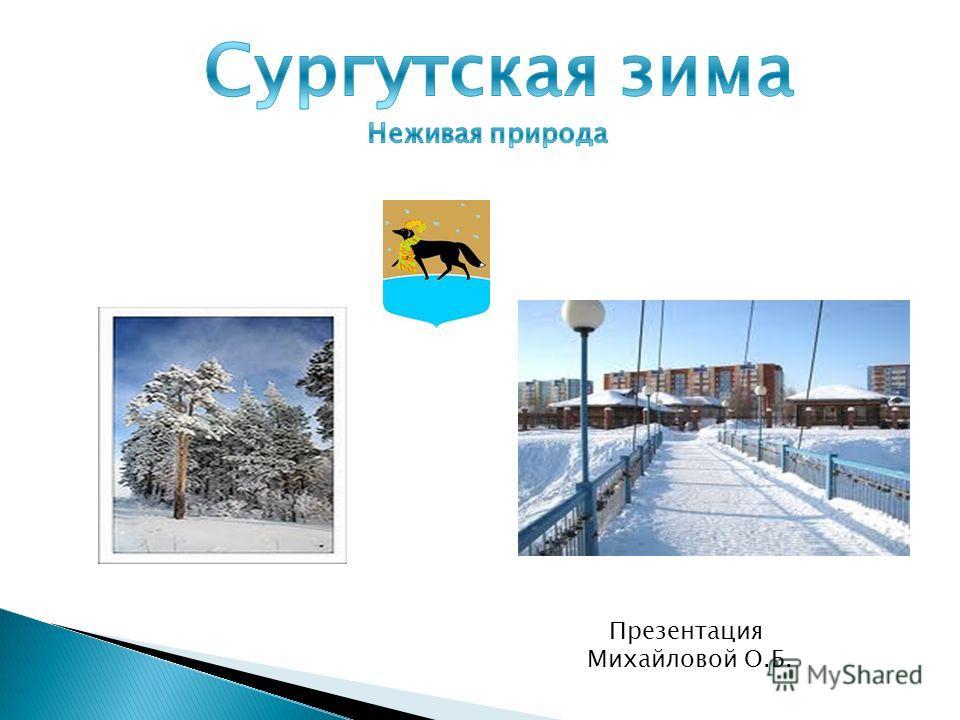 Презентация Михайловой О.Б.
