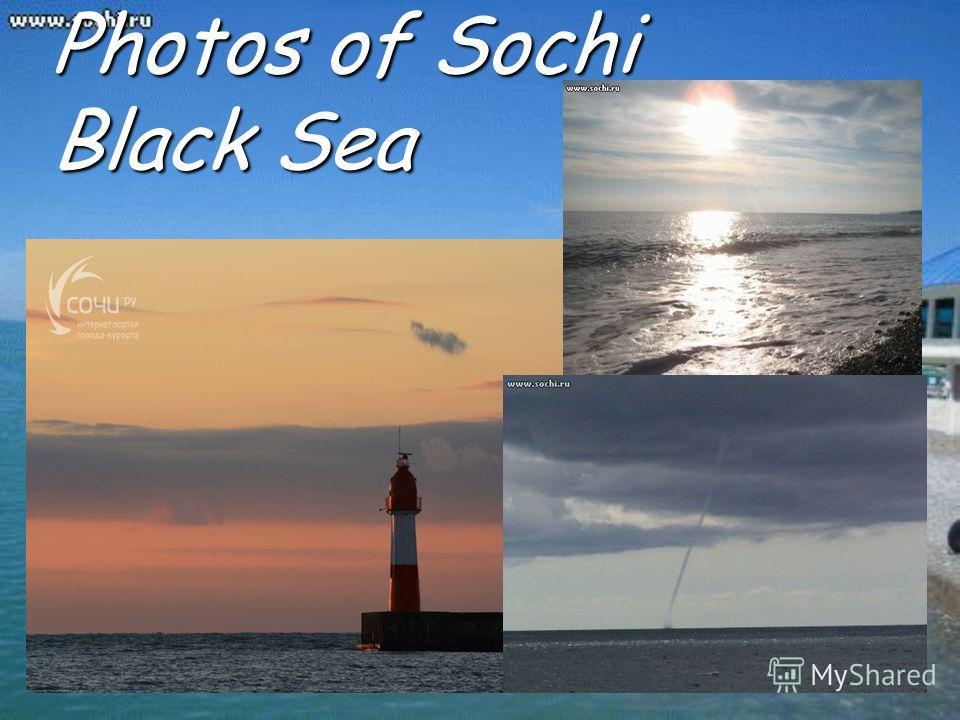 Photos of Sochi Black Sea