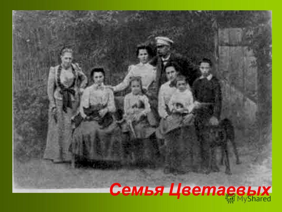 Семья Цветаевых