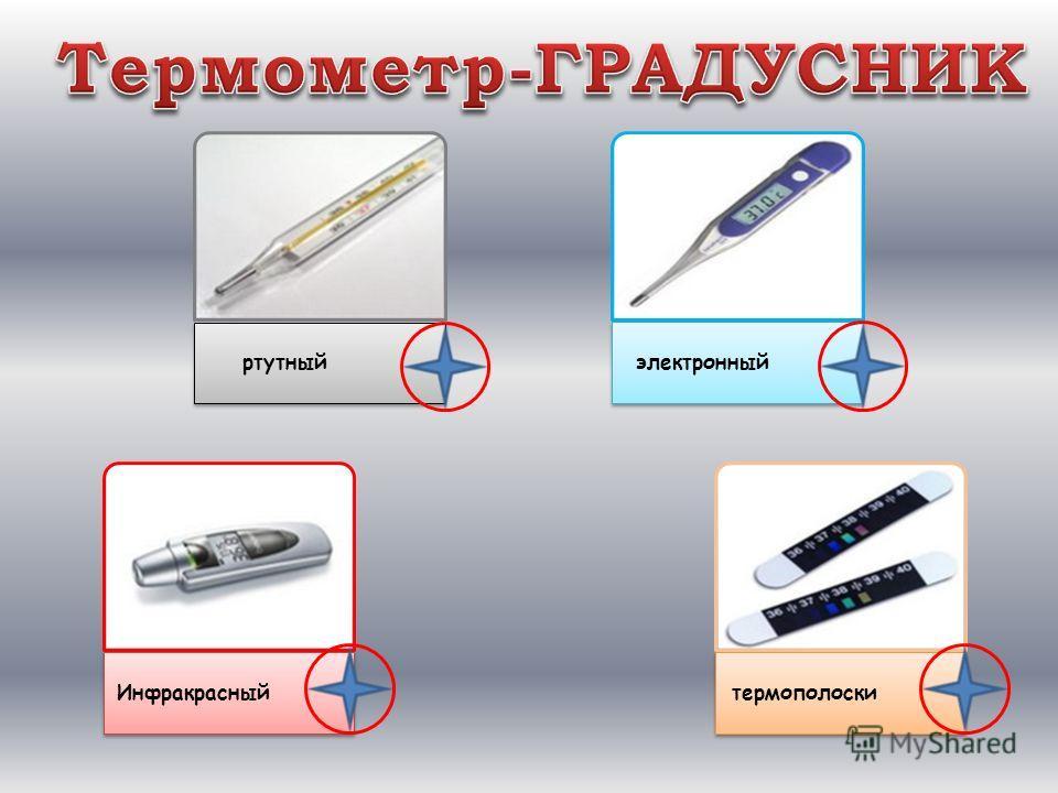 ртутный электронный Инфракрасныйтермополоски