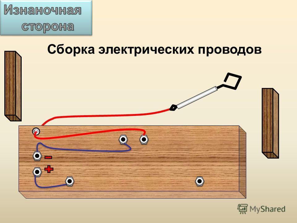 Сборка электрических проводов