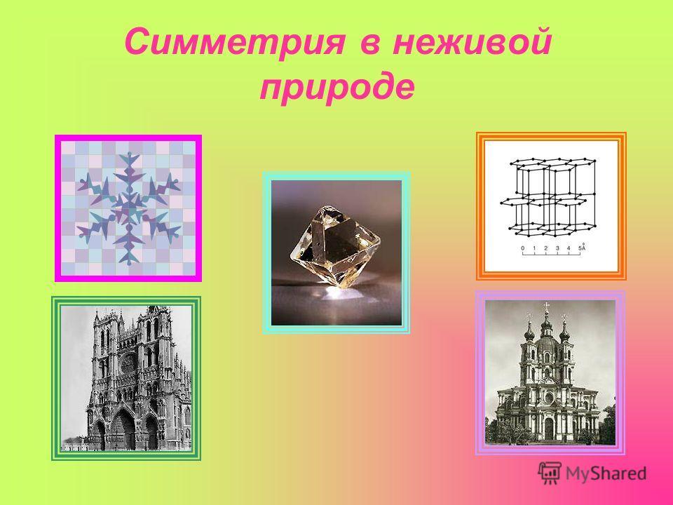 Симметрия в неживой природе