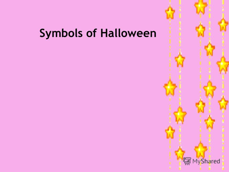 Symbols of Halloween