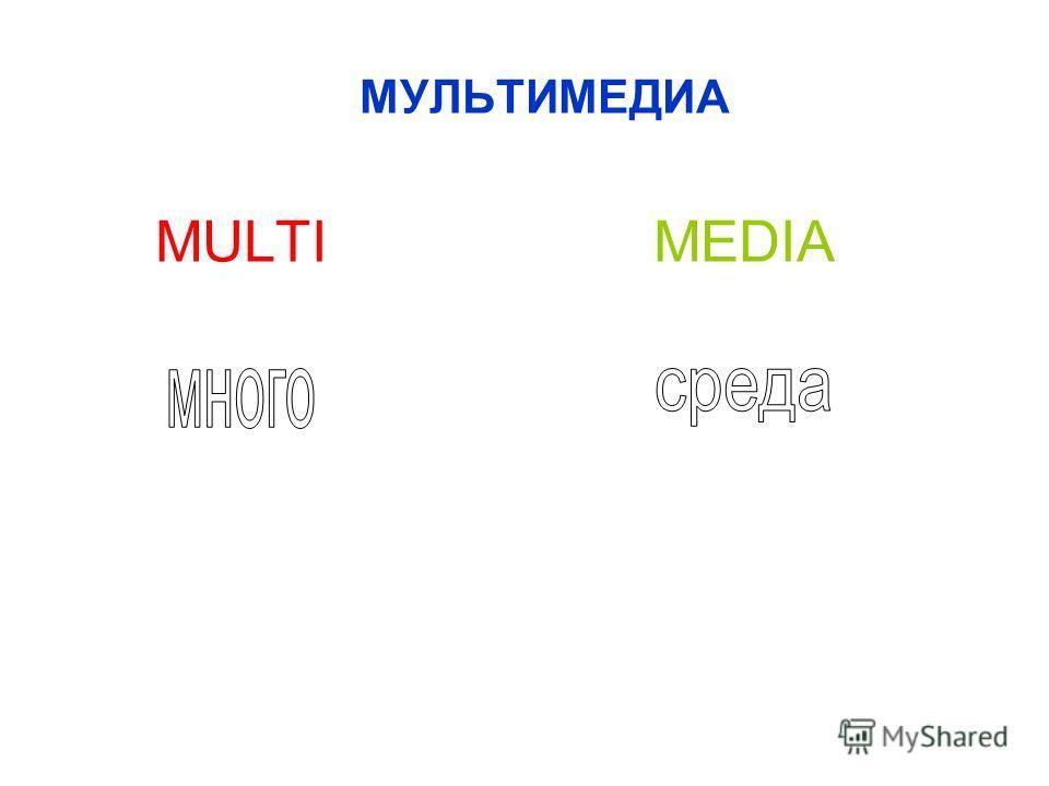 МУЛЬТИМЕДИА MULTI MEDIA