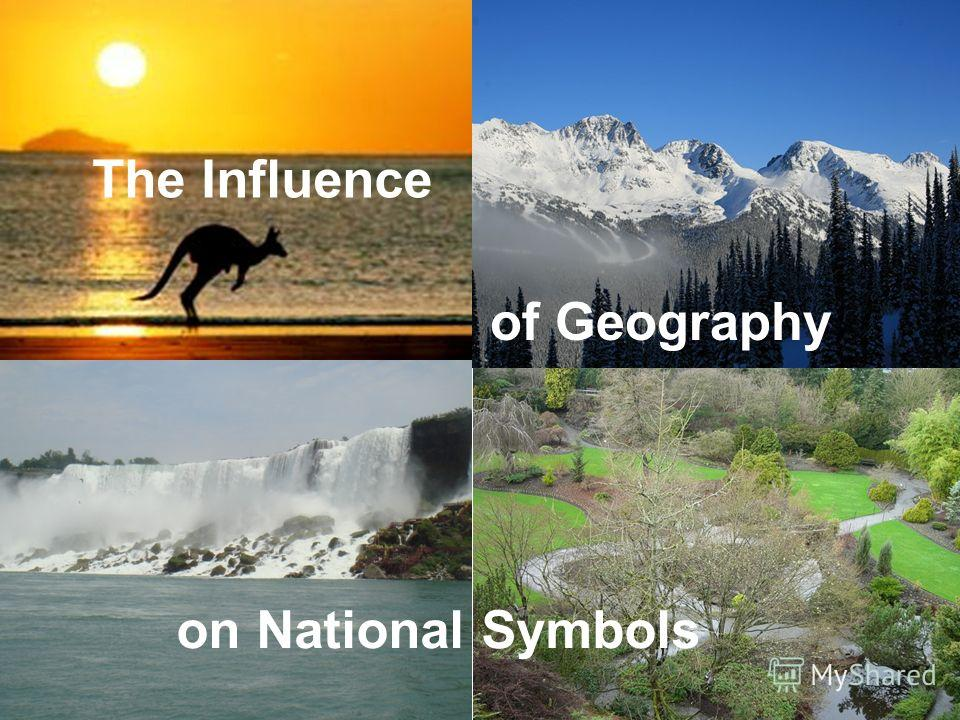 on National Symbols The Influence of Geography