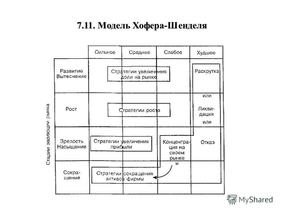 7.11. Модель Хофера-Шенделя