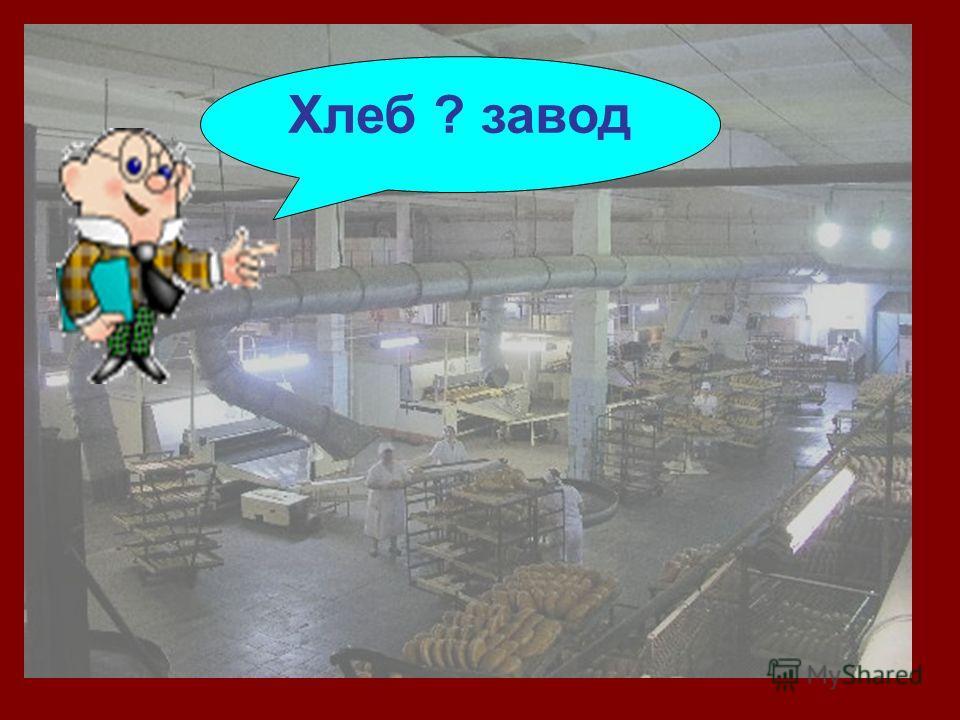 Хлеб ? завод