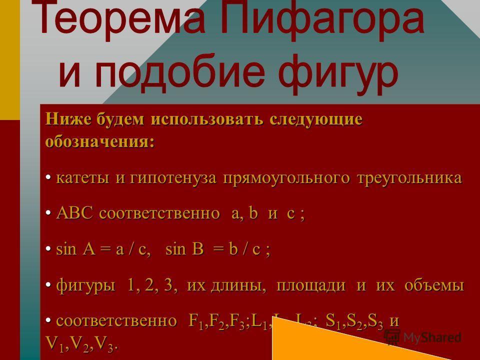 Некоторые применения теоремы Пифагора Автор Янченко Т.Л. Автор Янченко Т.Л. Август 12, 2004 Август 12, 2004 Автор Янченко Т.Л. Автор Янченко Т.Л. Август 12, 2004 Август 12, 2004