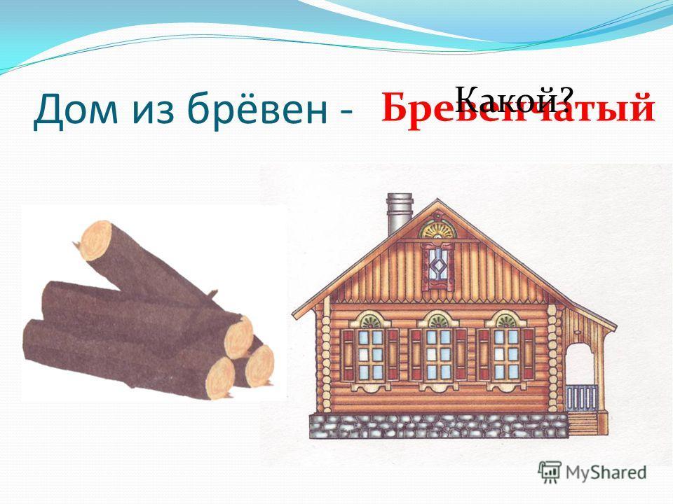 Дом из брёвен - Бревенчатый Какой?