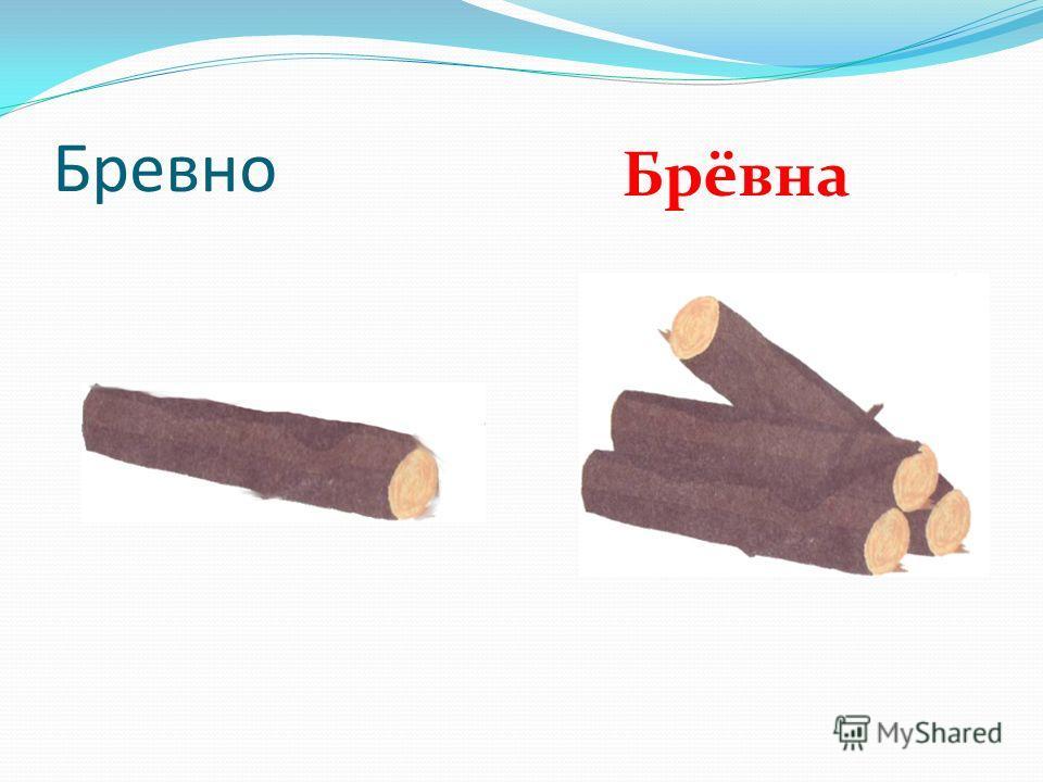 Бревно Брёвна