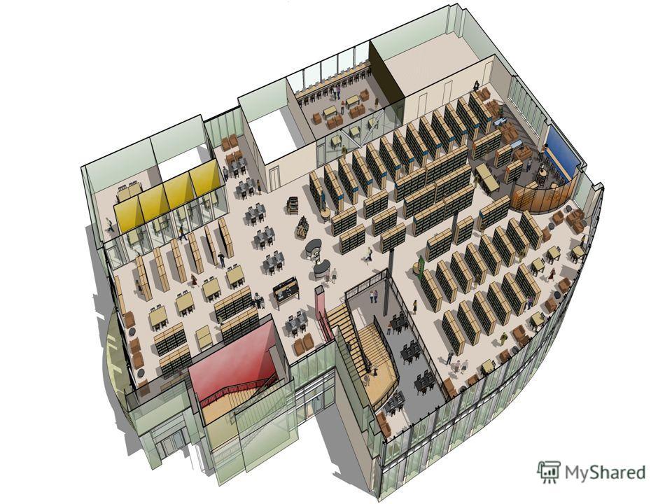 20. Площадь общего читального зала в библиотеках централизованной библиотечной системы следует принимать не менее 2,4 кв.м на одно читательское место (при оборудовании читального зала одноместными или двухместными столами). 21. Площадь помещений закр