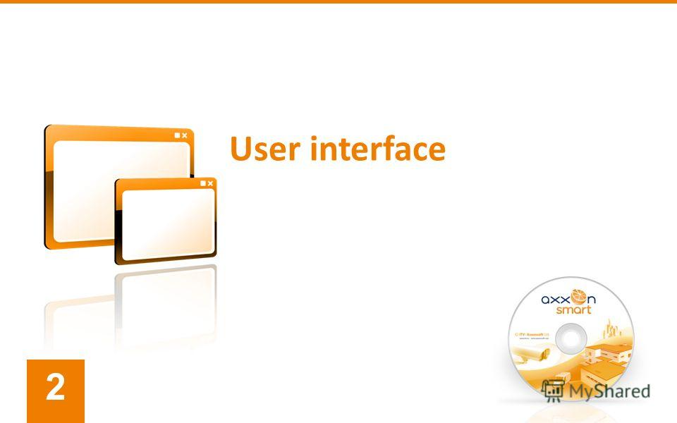 User interface 2