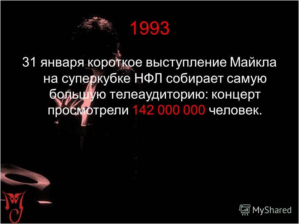 1992 Майкл основывает благотворительный фонд «Исцелим мир» для помощи нуждающимся детям во всех странах мира. В апреле выходит книга «Танцуя мечту».