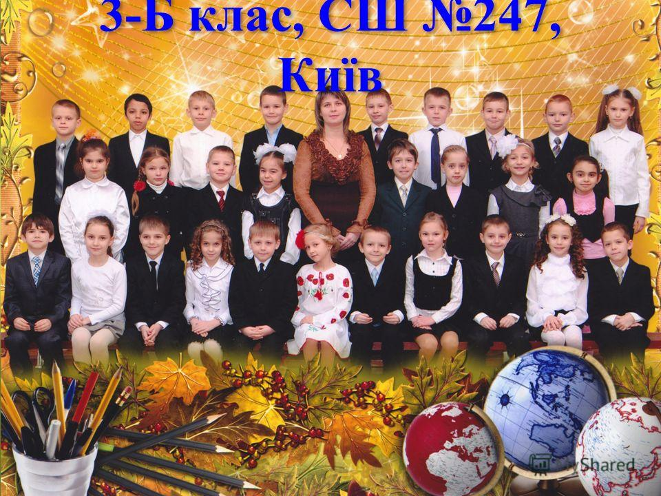 3-Б клас, СШ 247, Київ