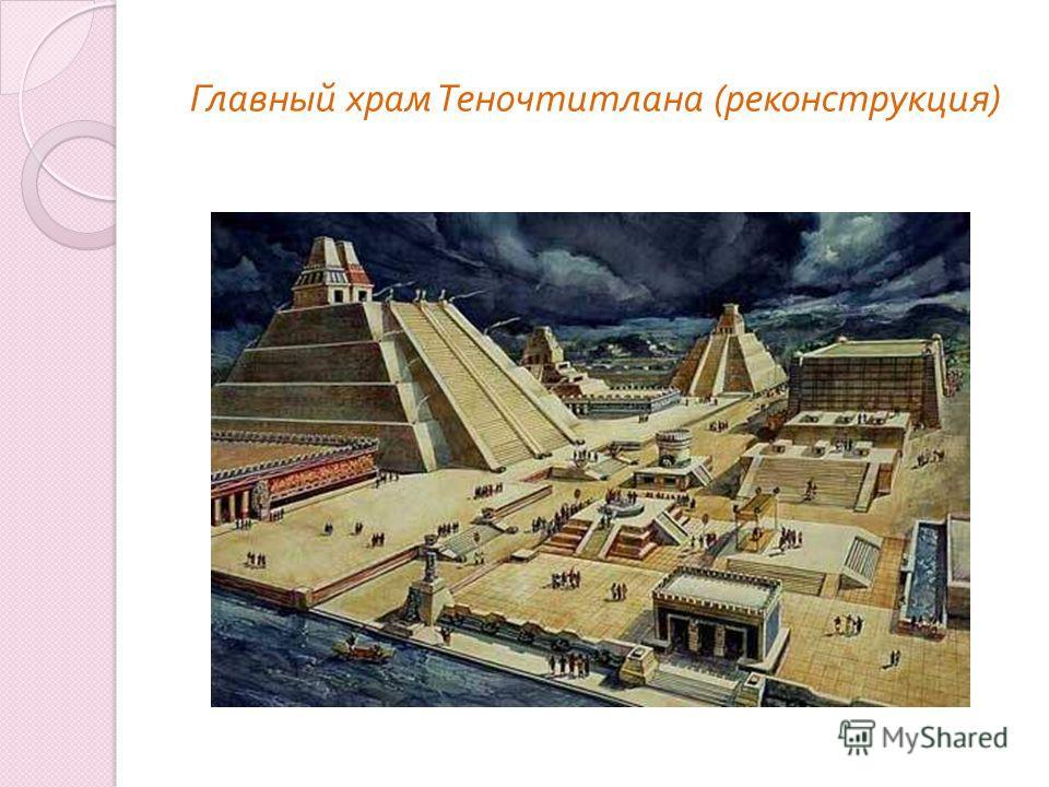 Главный храм Теночтитлана ( реконструкция )