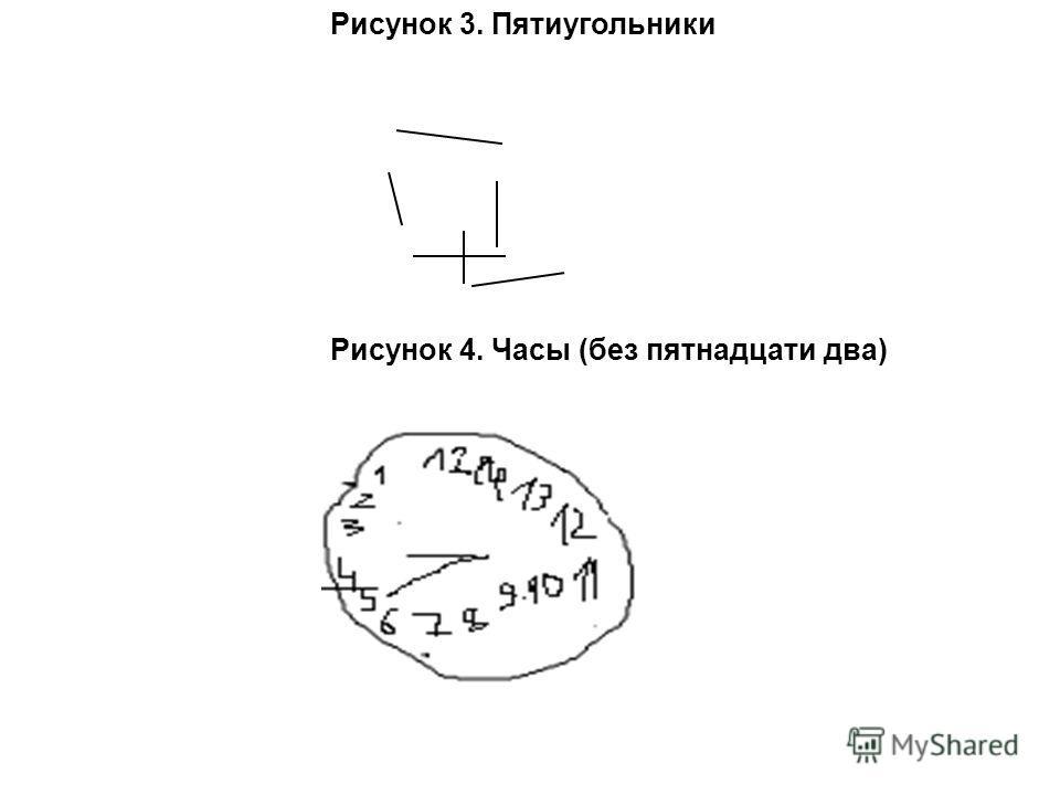 Пятиугольники рисунок