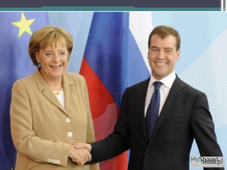 Merkel Freundschaft Рукопожатие с Пут или Мед
