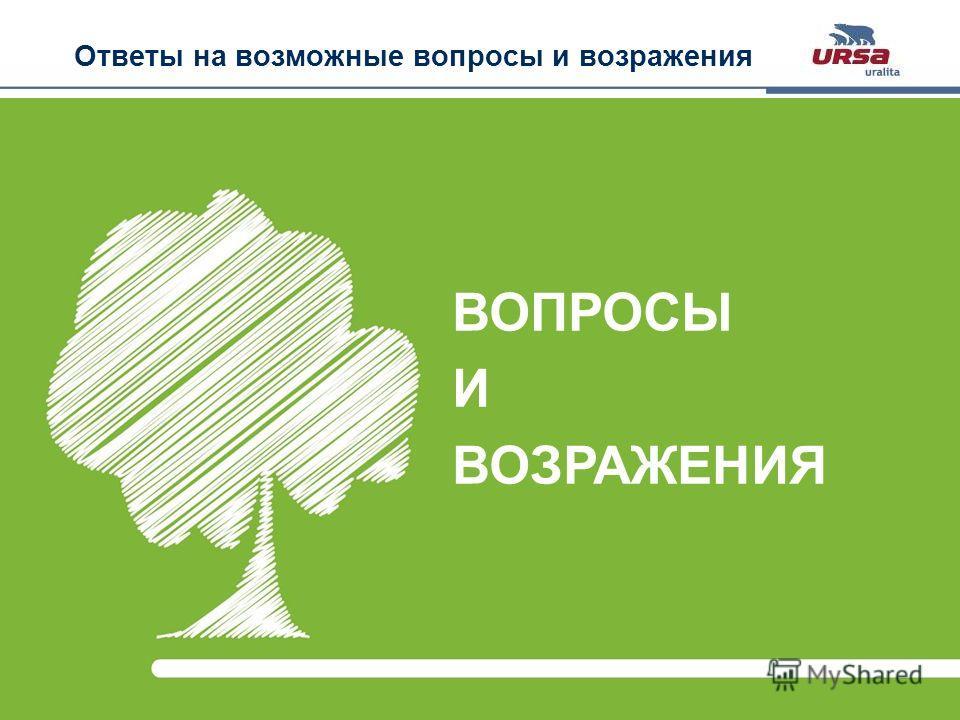 Slide 29 · URSA GEO· October 2011 Ответы на возможные вопросы и возражения ВОПРОСЫ И ВОЗРАЖЕНИЯ