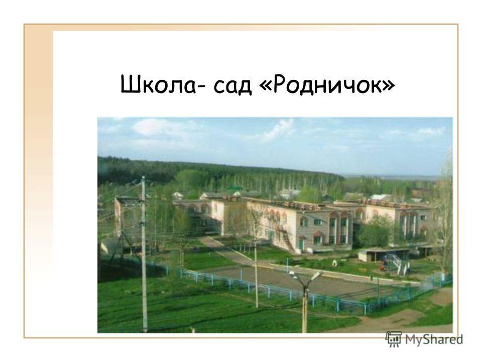 Школа- сад «Родничок»