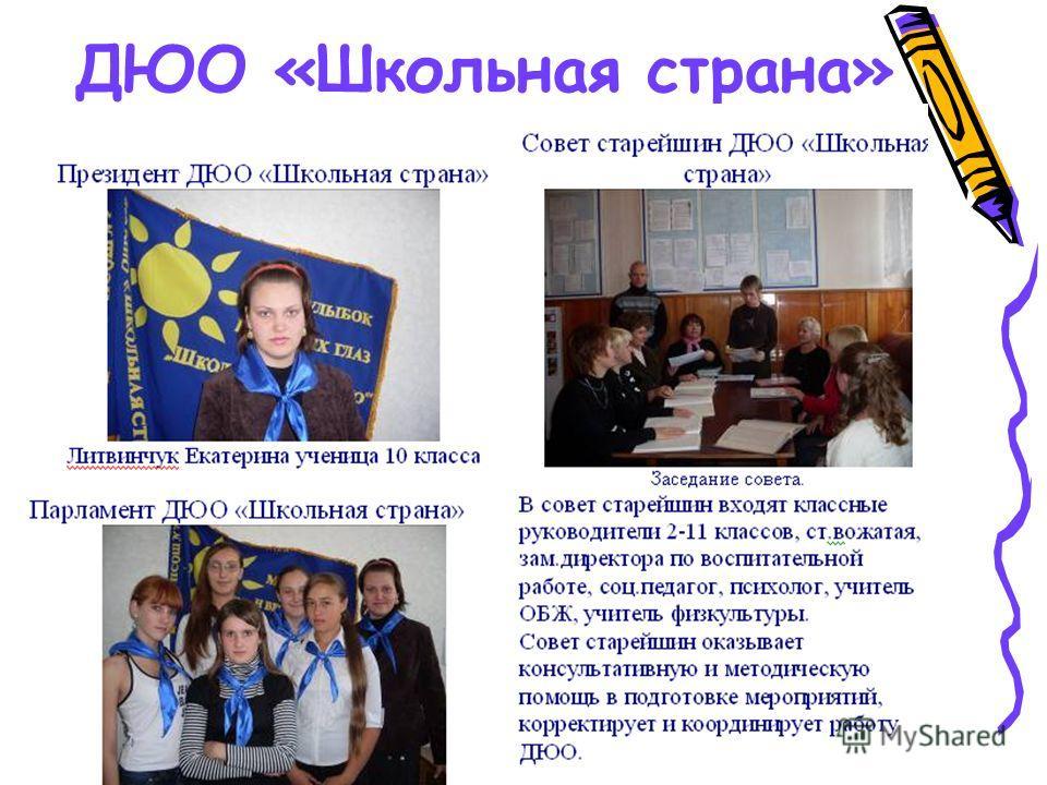 ДЮО «Школьная страна»