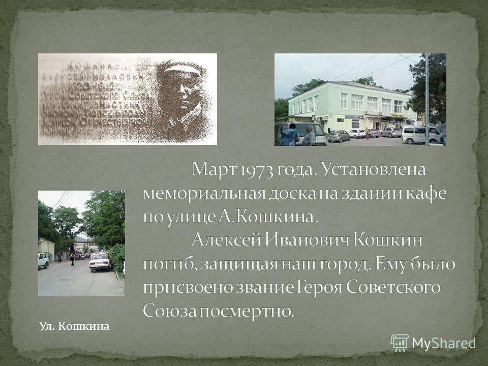 Ул. Кошкина