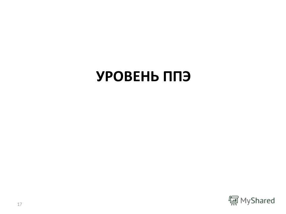 УРОВЕНЬ ППЭ 17