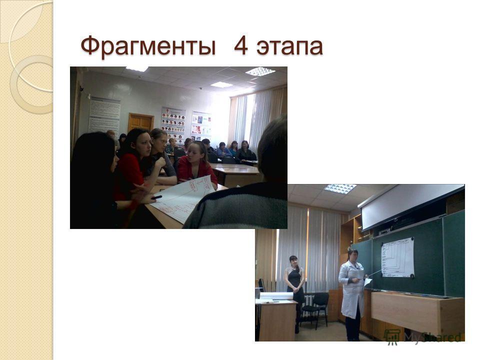 Фрагменты 4 этапа