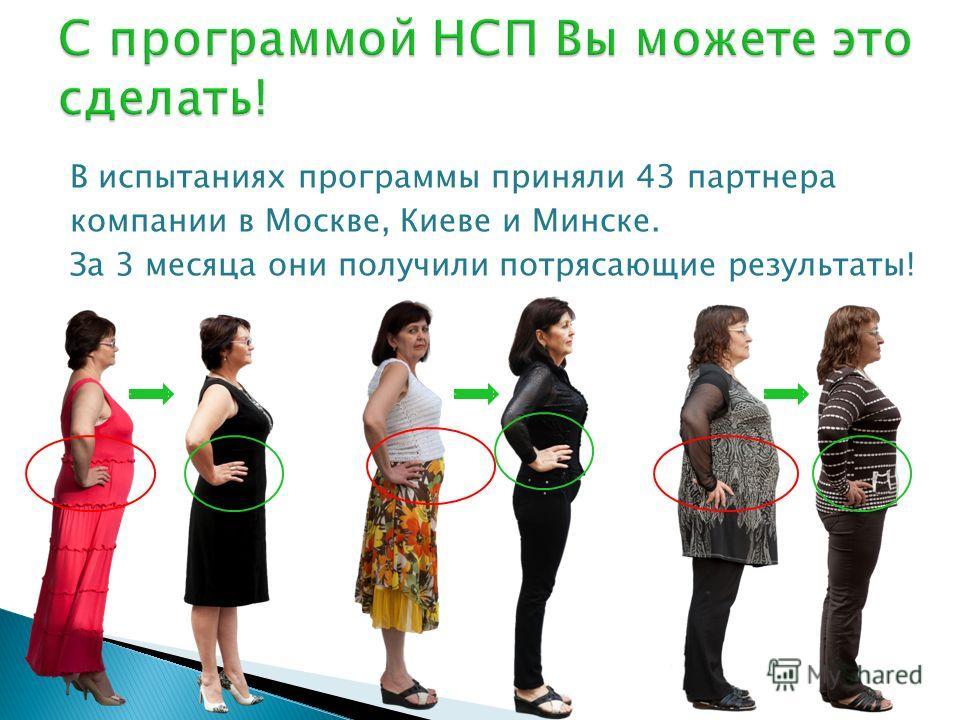 В испытаниях программы приняли 43 партнера компании в Москве, Киеве и Минске. За 3 месяца они получили потрясающие результаты!