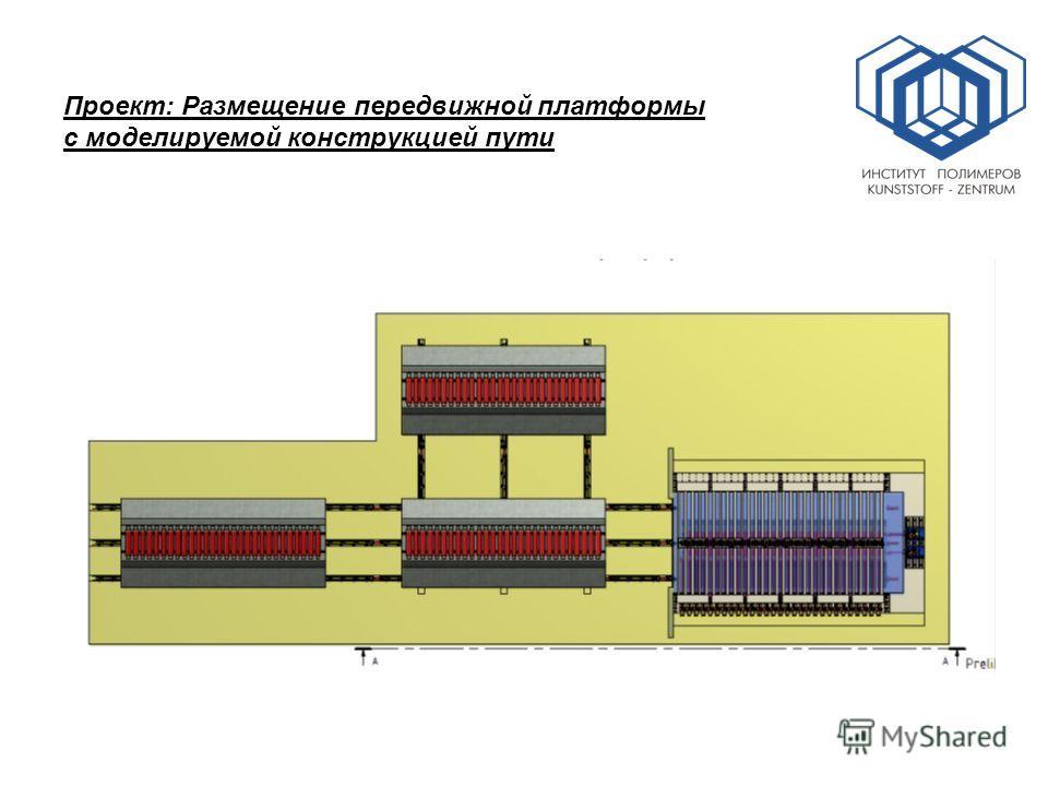 Проект: Размещение передвижной платформы с моделируемой конструкцией пути