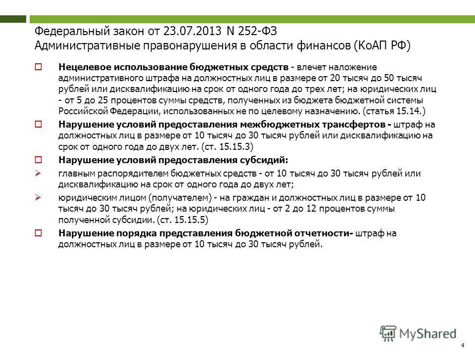 области финансов (КоАП РФ)