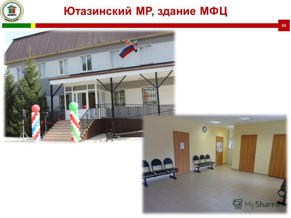 48 Ютазинский МР, здание МФЦ