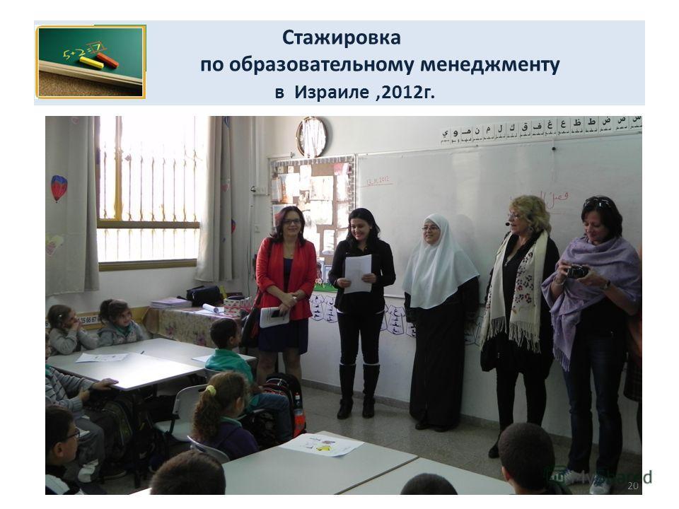 Стажировка по образовательному менеджменту в Израиле,2012г. 20