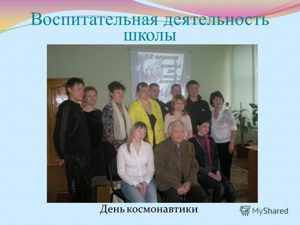 Воспитательная деятельность школы День космонавтики