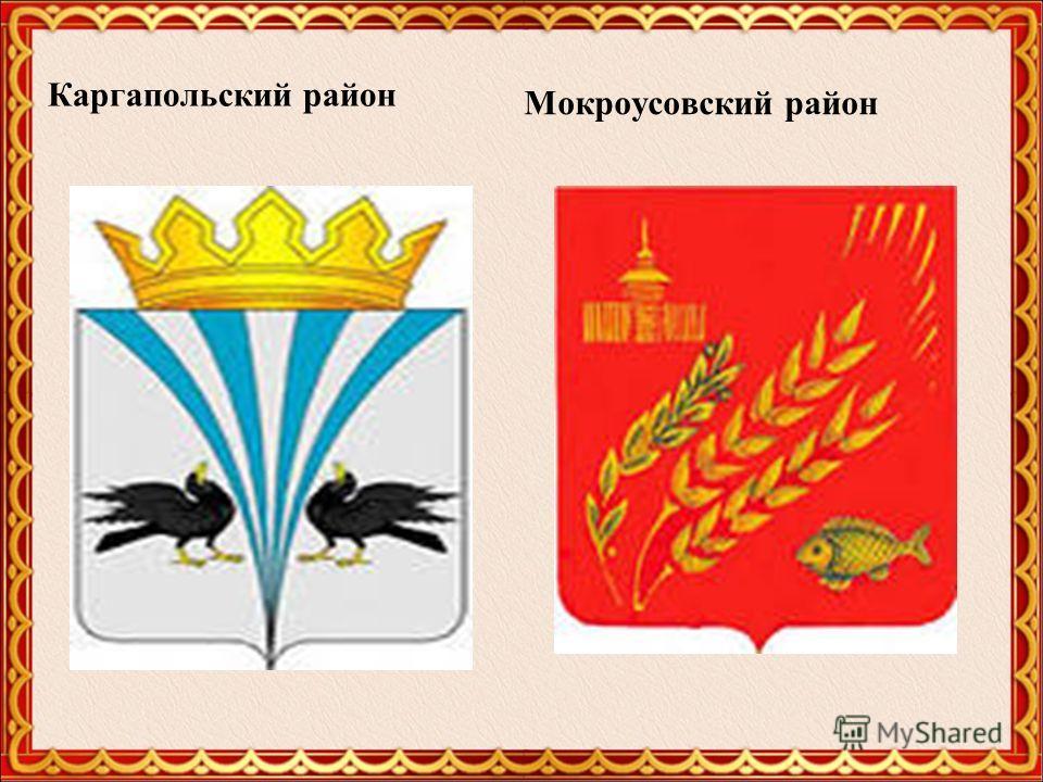 Каргапольский район Мокроусовский район