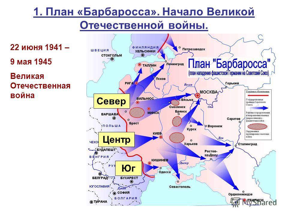 Начало Великой Отечественной