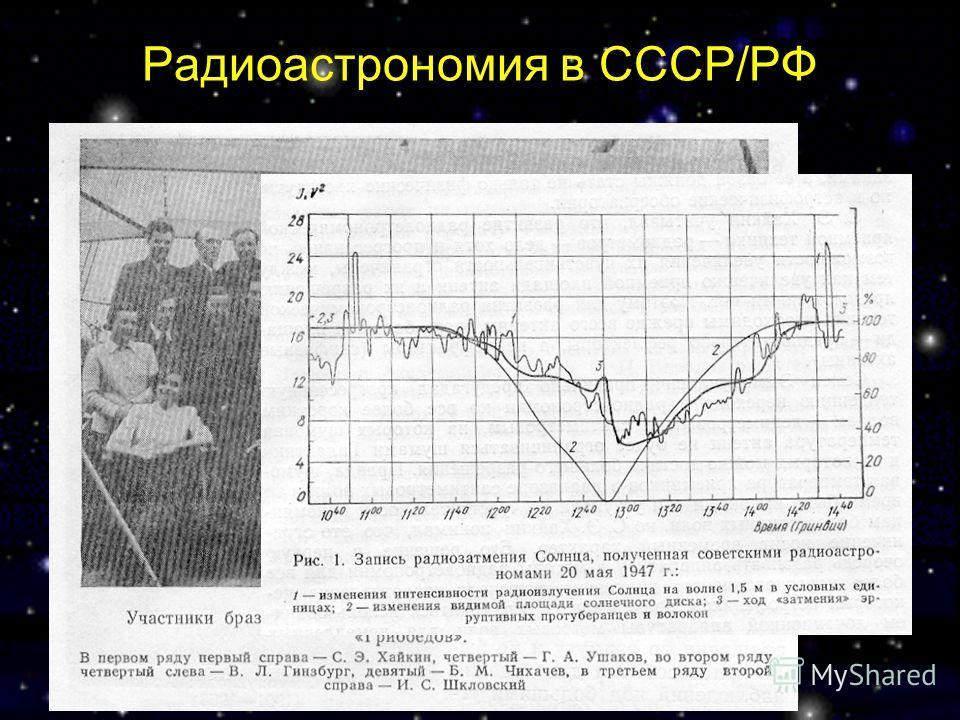 Радиоастрономия в СССР/РФ
