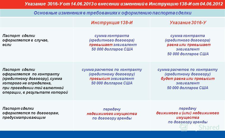 Инструкция Банка России 138-и От 04.06.2012 С Изменениями - фото 6