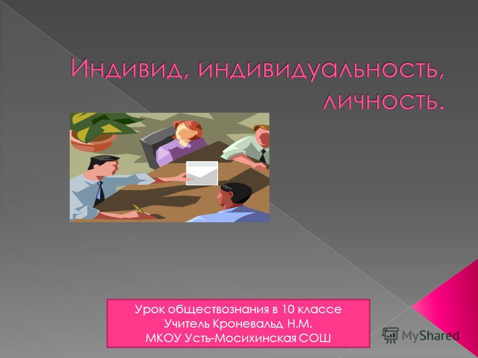 Урок обществознания в 10 классе Учитель Кроневальд Н.М. МКОУ Усть-Мосихинская СОШ