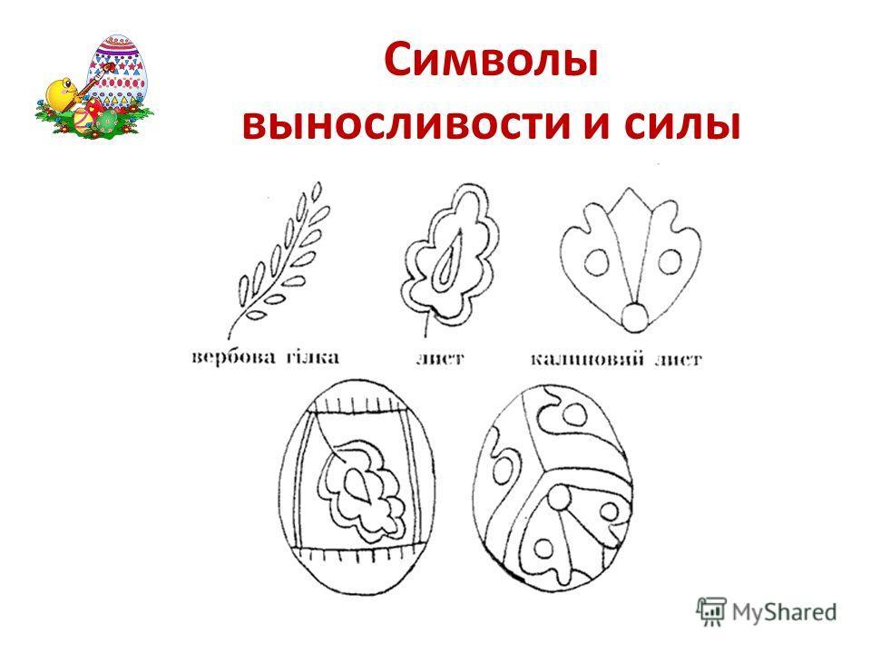 Символы выносливости и силы