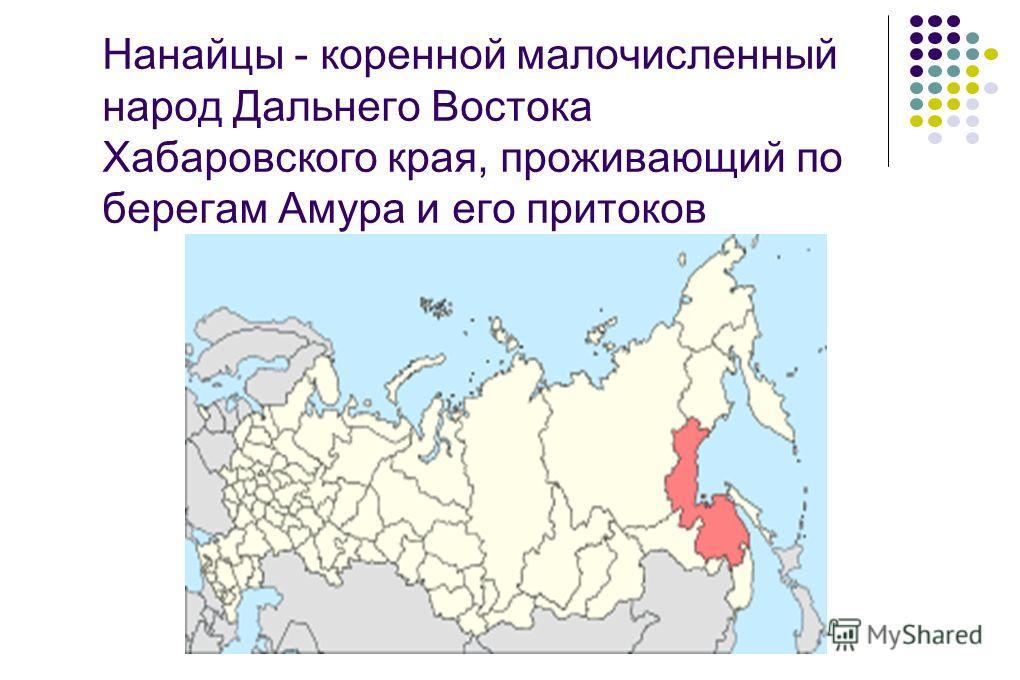 Нанайцы - коренной малочисленный народ Дальнего Востока Хабаровского края, проживающий по берегам Амура и его притоков