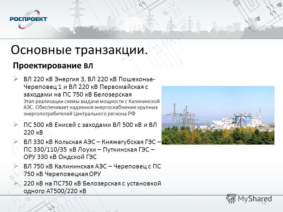 Проектирование ВЛ ВЛ 220 кВ