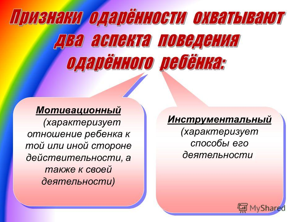 Инструментальный (характеризует способы его деятельности) Мотивационный (характеризует отношение ребенка к той или иной стороне действительности, а также к своей деятельности) Мотивационный (характеризует отношение ребенка к той или иной стороне дейс