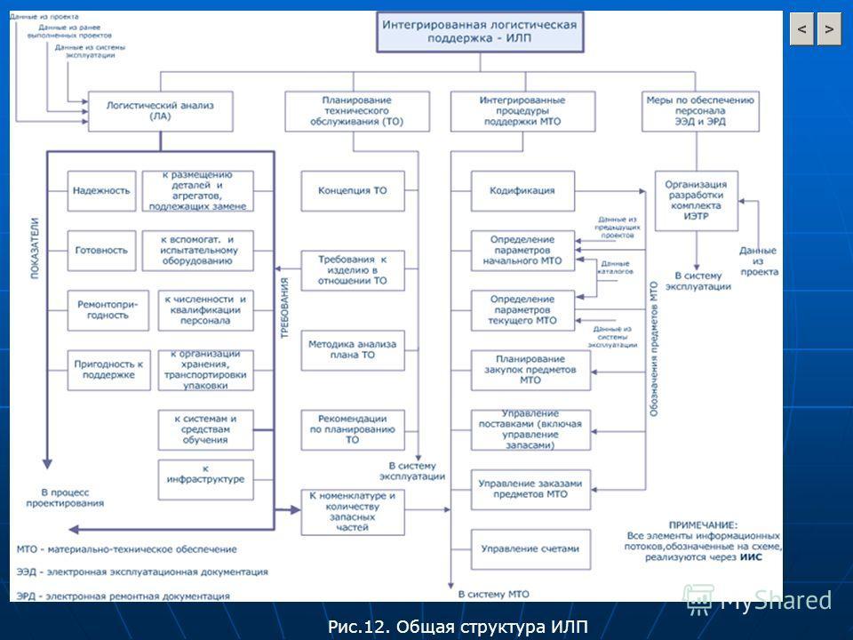 Рис.12. Общая структура ИЛП