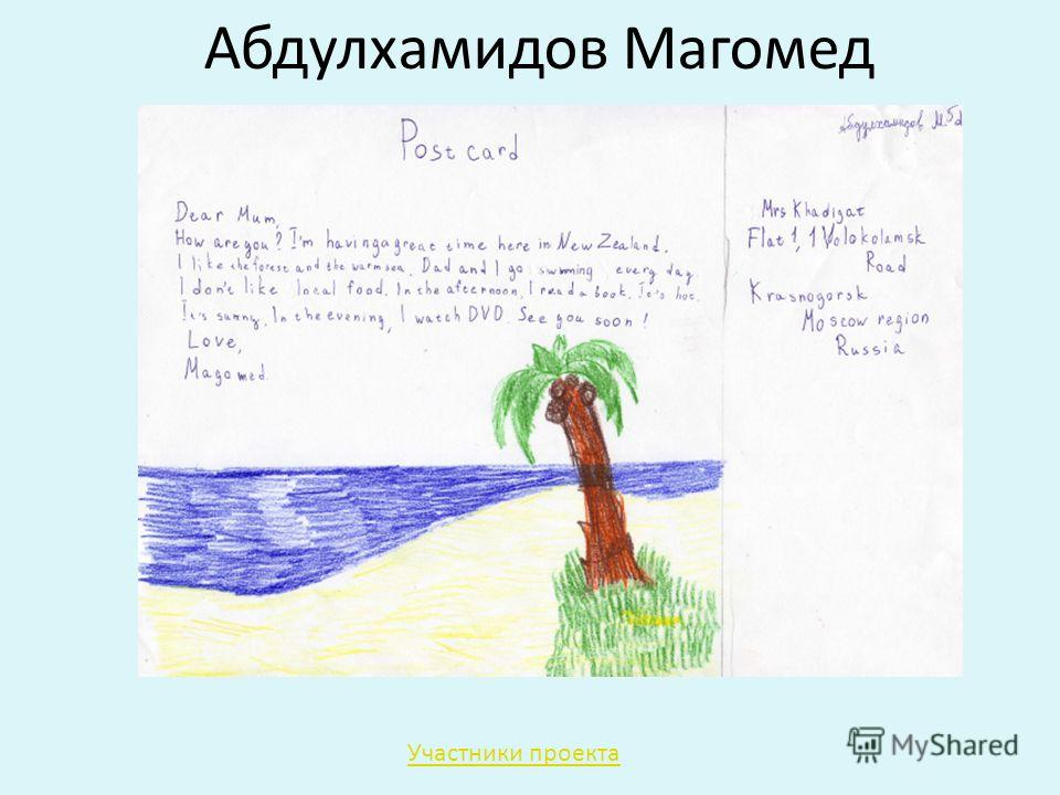 Абдулхамидов Магомед Участники проекта