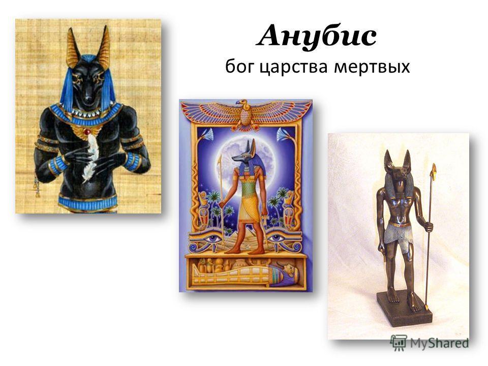 Анубис бог царства мертвых