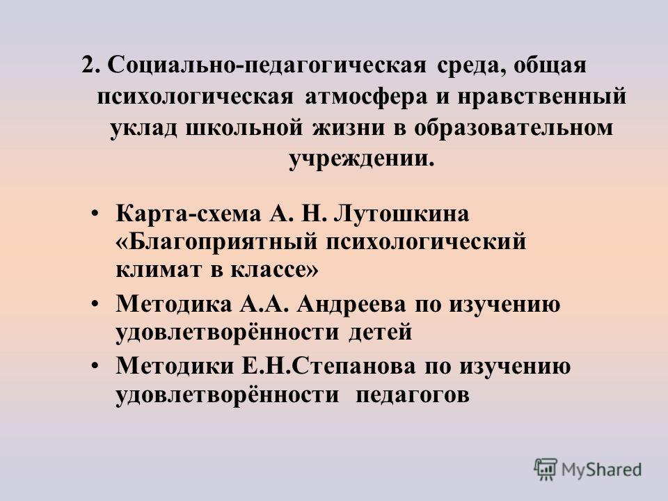 Карта-схема А. Н. Лутошкина «