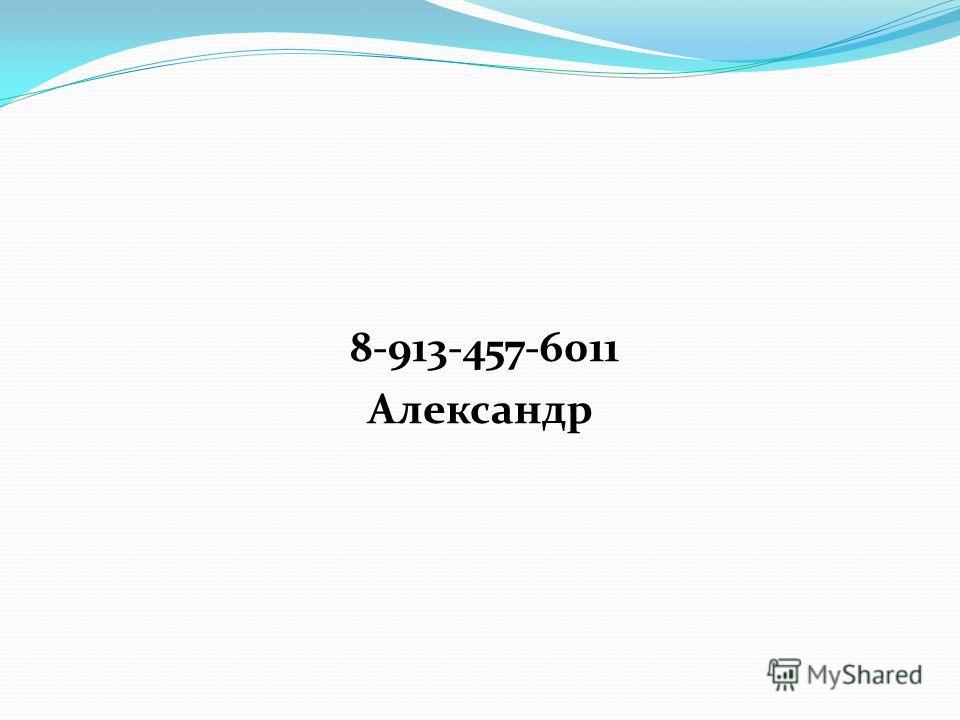 8-913-457-6011 Александр