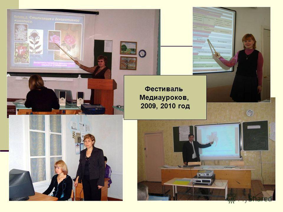 Фестиваль Медиауроков, 2009, 2010 год