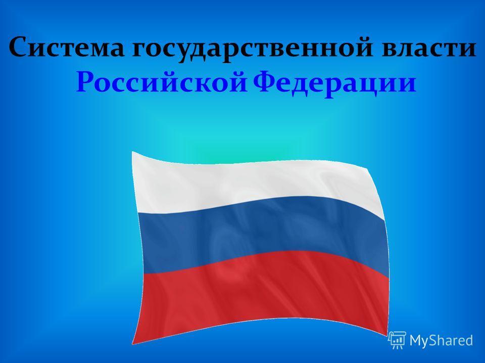 Система государственной власти Российской Федерации